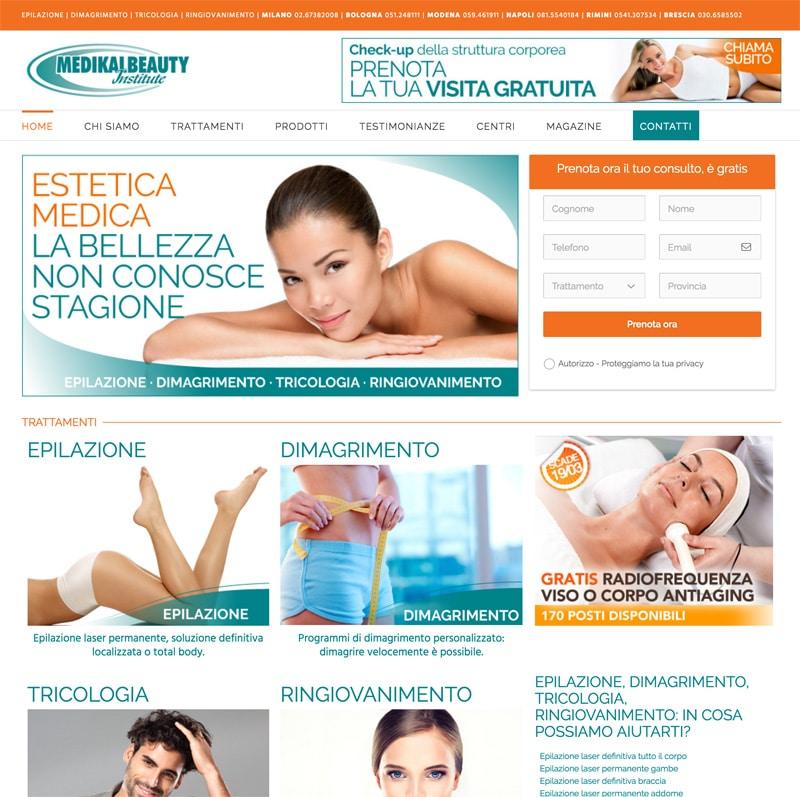 sito-responsive-per-centro-estetico-a-modena-medikalbeauty-institute
