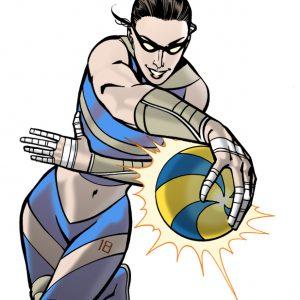 Illustrazione di Giuseppe Palumbo per LGS SportLab - Bologna