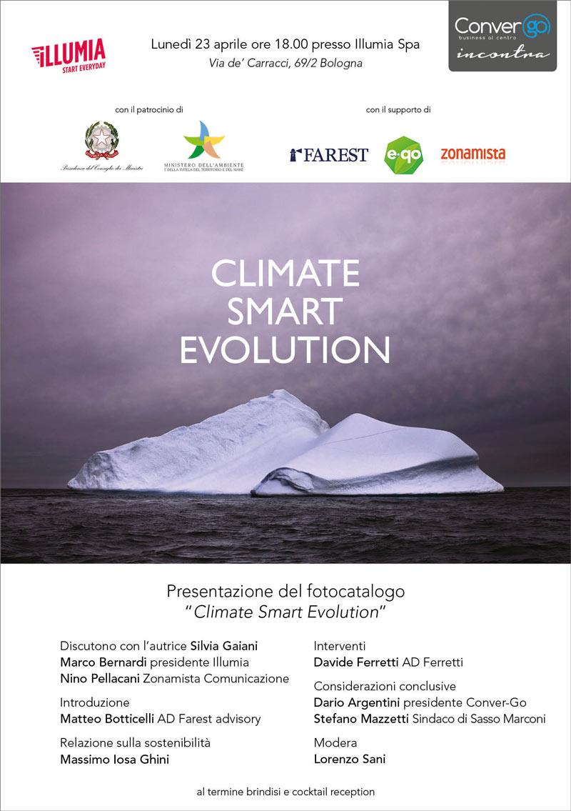 Climate Smart Evolution - impaginazione a cura di Zonamista Comunicazione