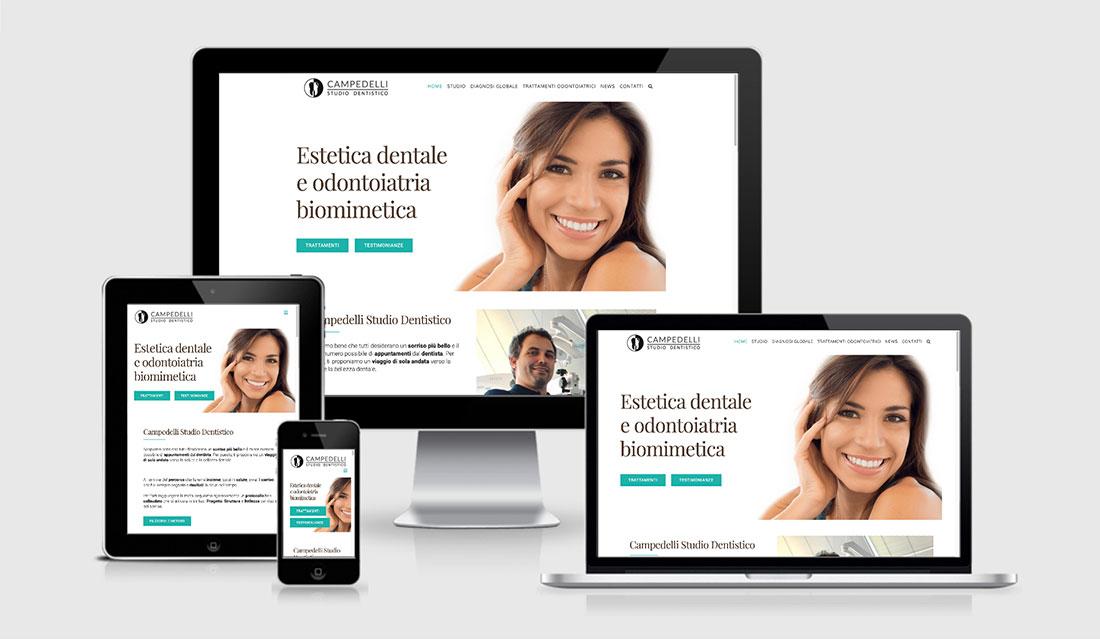 Federico Campedelli Odontoiatra a Carpi - sito versione desktop