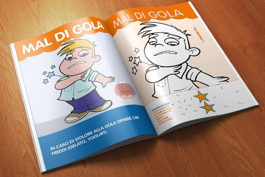 pubblicazione per bambini E se non sto bene