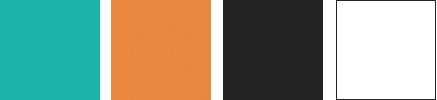 Federico Campedelli Dentista - palette colori del sito