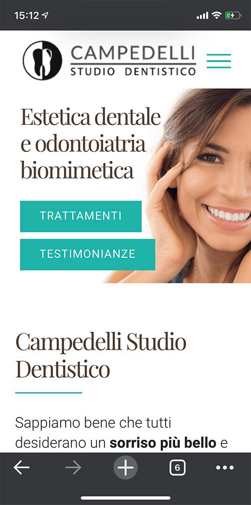 Il sito di Federico Campedelli - versione mobile